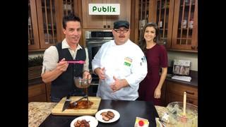 Chili Maple Pork with Broccoli Spoon...