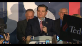 Ted Cruz wins Iowa GOP caucus, Trump edges Rubio for second