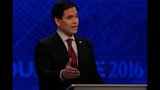 Republicans candidates target Rubio in New Hampshire debate