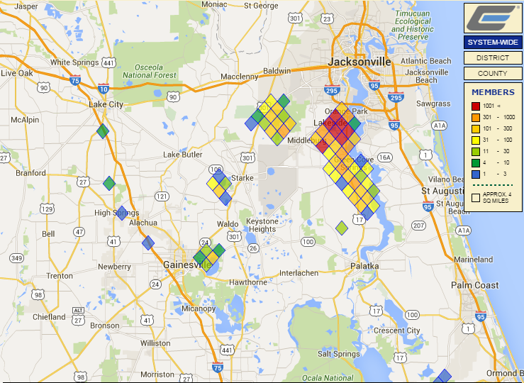 Wind Causing Power Outages Throughout Clay Electrics Service Area - Internet outage map of the us