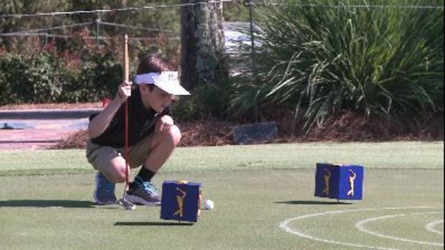 Youth golf contest at the Players inspires kids