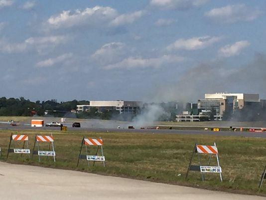 PDK airshow ends in fiery crash; pilot killed