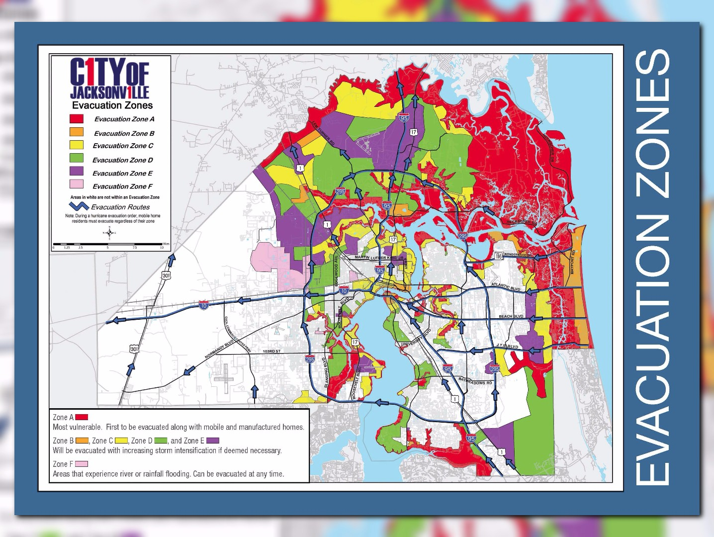 Are You In An Evacuation Zone Click Here To Find Out Firstcoastnews Com