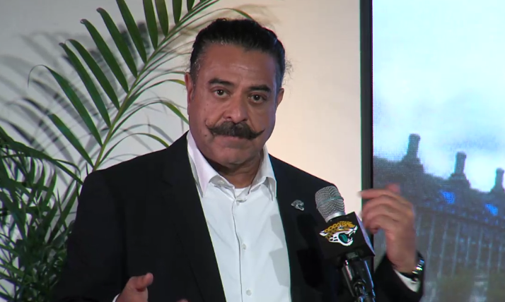 Jags owner Shad Khan calls Trump 'the great divider' in interview, defends  position on anthem | firstcoastnews.com